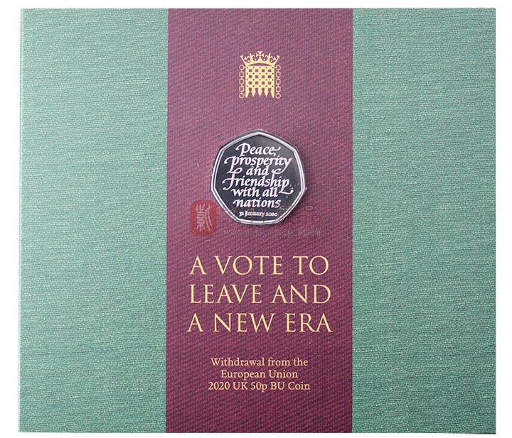 英国脱欧纪念币